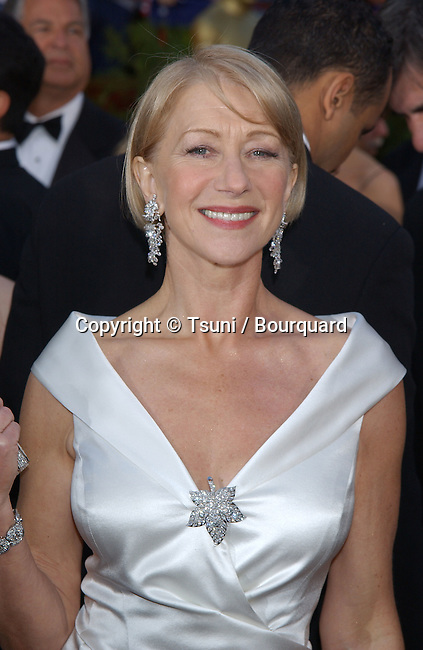 Helen Mirren, arriving at the 74th Annual Academy Awards, at The Kodak Theatre in Hollywood, CA. 3/24/2002.<br />           -            MirrenHelen049.jpg
