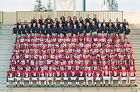 STANFORD, CA - September 14, 2014: The 2014 Stanford Cardinal Football Team