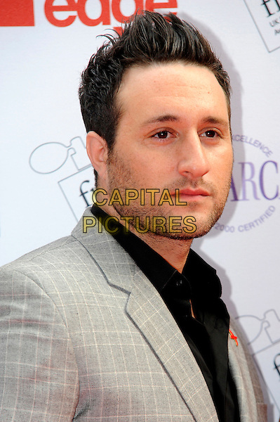 Antony Costa.The FiFi UK Fragrance Awards 2012 at The Brewery, Chiswell Street, London, England..May 17th 2012.headshot portrait black grey gray shirt stubble facia hair .CAP/CJ.©Chris Joseph/Capital Pictures.