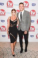 Olivia Buckland and Alex Bowen<br /> arriving for the TV Choice Awards 2017 at The Dorchester Hotel, London. <br /> <br /> <br /> ©Ash Knotek  D3303  04/09/2017