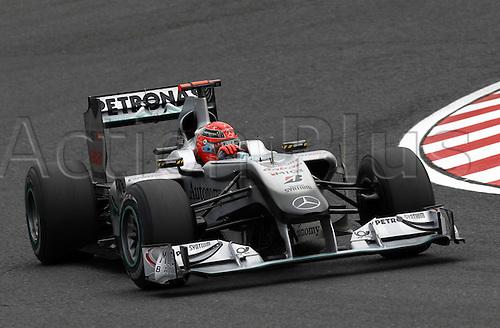 08.10.2010  Formula 1 World Championship 2010 GP of Japan Michael Schumacher ger Mercedes GP