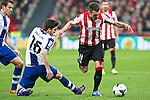 BILBAO. ESPA&Ntilde;A. FUTBOL.<br /> Partido de la Liga BBVA entre Athletic Club y Espanyol; a 16-02-14. <br /> En la imagen :<br /> 16Javi Lopez (Espanyol Barcelona)<br /> 11Ibai Gomez (Athletic Bilbao)<br /> PPHOTOCALL3000 / RME