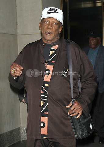 NEW YORK, NY - MAY 11: Louis Gossett Jr pictured at NBC's Today Show in New York City on May 11, 2016. Credit: RW/MediaPunch