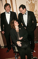 Sony Pictures Classics Tom Bernard and Michael Barker with Marcie Bloom at the 3rd Annual Directors Guild Of America Honors at the Waldorf-Astoria in New York City. June 9, 2002. <br />
