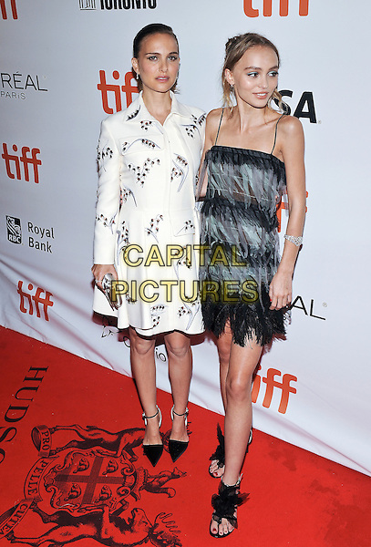 10 September 2016 - Toronto, Ontario Canada - Natalie Portman, Lily-Rose Depp.  &quot;Planetarium&quot; Premiere - 2016 Toronto International Film Festival held at Roy Thomson Hall. <br /> CAP/ADM/BPC<br /> &copy;BPC/ADM/Capital Pictures