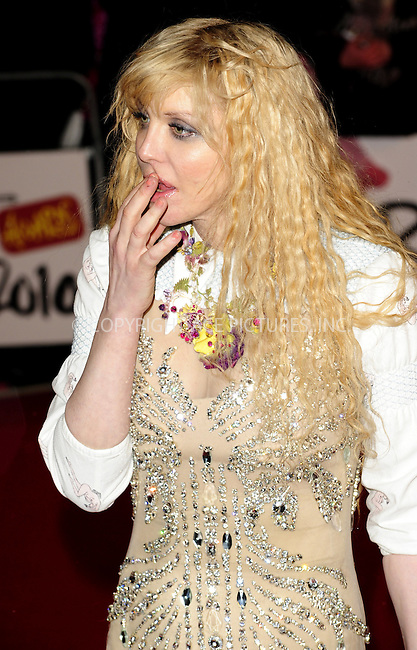 WWW.ACEPIXS.COM . . . . .  ..... . . . . US SALES ONLY . . . . .....February 16 2010, London....Courtney Love arriving at The Brit Awards at Earls Court on February 16, 2010 in London, England. ....Please byline: FAMOUS-ACE PICTURES... . . . .  ....Ace Pictures, Inc:  ..Tel: (212) 243-8787..e-mail: info@acepixs.com..web: http://www.acepixs.com