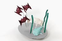 OrigamiUSA 2017 Holiday Tree at the American Museum of Natural History. Base 15 models:<br /> Bats: Designer &ndash; Michael G. LaFosse, Folder &ndash; Kathryn Wagner<br /> Beluga Whale: Designer &ndash; Ryan Walsh, Folder &ndash; Michael Verry<br /> Whale Shark: Designer Muneji Fuchimoto, Folder &ndash; Rosalind Joyce