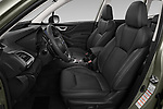 Front seat view of 2019 Subaru Forester e-Boxer-Premium 5 Door SUV Front Seat  car photos