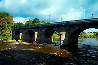 Bothwell Bridge and the River Clyde, Bothwell, South Lanarkshire