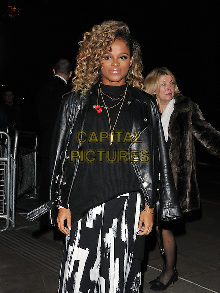 Fleur East attends the Music Industry Trusts Award 2015, Grosvenor House Hotel, Park Lane, London, England, UK, on Monday 02 November 2015. <br /> CAP/CAN<br /> &copy;Can Nguyen/Capital Pictures