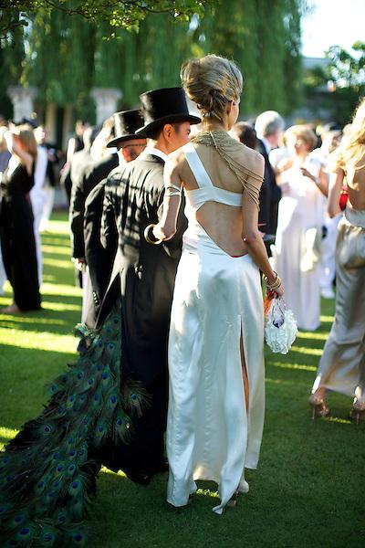 Exotic guests at Elton John's White Tie and Tiara Ball