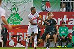 20.07.2018, Zillertalarena, Zell am Ziller, AUT, FSP, 1.FBL, SV Werder Bremen (GER) vs 1. FC Koeln (GER), im Bild<br /> <br /> Felix Beijmo (Neuzugang SV Werder Bremen #02)<br /> Nikolas Nartey (Koeln #38)<br /> Foto © nordphoto / Kokenge