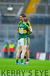 Colm Cooper and Anthony Maher, Kerry players after defeating Tyrone in the All Ireland Semi Final at Croke Park on Sunday.