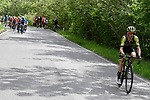 Simon Yates (GBR) Mitchelton-Scott attacks on the Colma di Sormano during Stage 15 of the 2019 Giro d'Italia, running 232km from Ivrea to Como, Italy. 26th May 2019<br /> Picture: Fabio Ferrari/LaPresse | Cyclefile<br /> <br /> All photos usage must carry mandatory copyright credit (© Cyclefile | Fabio Ferrari/LaPresse)
