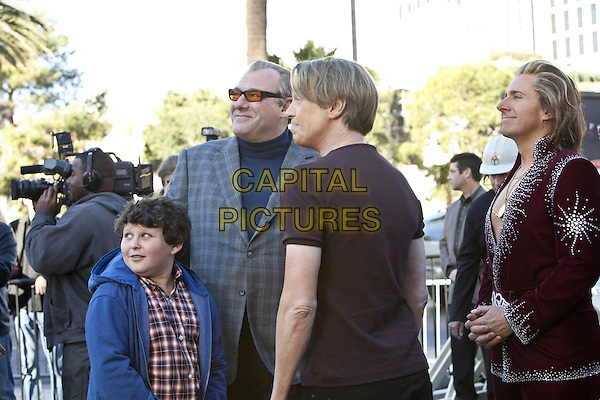 JOSHUA CHANDLER ERENBERG, JAMES GANDOLFINI, STEVE BUSCEMI & STEVE CARELL.in The Incredible Burt Wonderstone (2013) .*Filmstill - Editorial Use Only*.CAP/FB.Supplied by Capital Pictures.