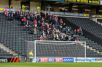 Fleetwood Town fans observe a minutes silence <br /> <br /> Photographer Andrew Kearns/CameraSport<br /> <br /> The EFL Sky Bet League One - Milton Keynes Dons v Fleetwood Town - Saturday 11th November 2017 - Stadium MK - Milton Keynes<br /> <br /> World Copyright &copy; 2017 CameraSport. All rights reserved. 43 Linden Ave. Countesthorpe. Leicester. England. LE8 5PG - Tel: +44 (0) 116 277 4147 - admin@camerasport.com - www.camerasport.com