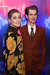 Denise Gough and Andrew Garfield attends the Broadway Opening Night After Party for 'Angels in America'  at Espace on March 25, 2018 in New York City.