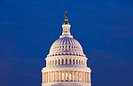 Washington DC; USA: The dome of the Capitol Building, legislative branch of the US government.Photo copyright Lee Foster Photo # 3-washdc82945