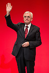 © Joel Goodman - 07973 332324 . 26/09/2016 . Liverpool , UK . Shadow chancellor JOHN MCDONNELL delivers his speech on the economy to the conference . The second day of the Labour Party Conference at the ACC Liverpool . Photo credit : Joel Goodman