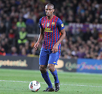 5/05/2012. Barcelona, Spain. La Liga. Picture show Keita in action during match FC Barcelona against RCD ESpanyol at Camp Nou