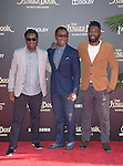 David Oyelowo and his brothers attends The Disney World Premiere of The Jungle Book held at The El Captian theatre  in Hollywood, California on April 04,2016                                                                               © 2016 Hollywood Press Agency