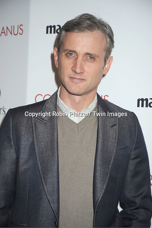 "Dan Abrams arrives for the New York Premiere of ""Coriolanus"" on January 17, 2012 at The Paris Theatre in New York City. The movie stars Vanessa Redgrave, Ralph Fiennes and Jessica Chastain."
