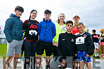 Enjoying the St Brendan's Park FC  5K run and family fun day at Christy Leahy Park on Sunday were Ray McGarth, Jade Healy, Sean McGarth, Neil Toni,  John Harty, Caroline Harty and Caroline McGarth