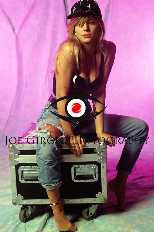 Various portraits of singer, Susie Hatton