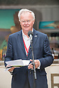 Edinburgh, UK. 04.08.2014.  New Zealand at Edinburgh 2014 Season Media Launch launches at the Assembly Roxy, Backyard Bar. Picture shows: Dr Dick Grant, Chairman of Creative New Zealand. Photograph © Jane Hobson