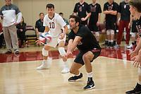 Stanford, CA - February 24, 2017: Stanford falls to BYU, 3-1, at Burnham Pavilion.