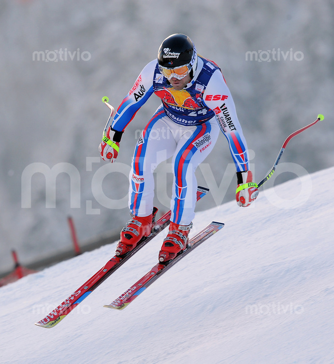 Ski Alpin;  Saison 2007/2008  22.01.2009 69. Hahnenkamm Rennen,  Abfahrt   2. Training   David Poisson (FRA)