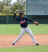 Henderson De Oleo - Cleveland Indians 2020 spring training (Bill Mitchell)