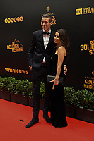 20190116 – PUURS ,  BELGIUM : Hans Vanaken (L) pictured during the  65nd men edition of the Golden Shoe award ceremony and 3th Women's edition, Wednesday 16 January 2019, in Puurs Studio 100 Pop Up Studio. The Golden Shoe (Gouden Schoen / Soulier d'Or) is an award for the best soccer player of the Belgian Jupiler Pro League championship during the year 2018. The female edition is the thirth one in Belgium.  PHOTO DIRK VUYLSTEKE | Sportpix.be