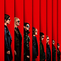 Ocean's 8 (2018) <br /> Sandra Bullock, Helena Bonham Carter, Cate Blanchett, Anne Hathaway, Sarah Paulson, Mindy Kaling, Rihanna &amp; Awkwafina<br /> *Filmstill - Editorial Use Only*<br /> CAP/KFS<br /> Image supplied by Capital Pictures