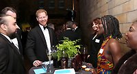 04 April 2019 - London, England - Prince Harry Duke of Sussex, Asim Chaudhry, Erika Krupova and Michaela Coel at Our Planet Global Premiere held at the Natural History Museum in London.. Photo Credit: ALPR/AdMedia