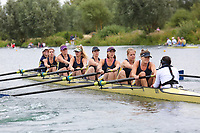 Race: 144  W.8+ (Band 2)  Final<br /> <br /> Peterborough Summer Regatta 2018 - Saturday<br /> <br /> To purchase this photo, or to see pricing information for Prints and Downloads, click the blue 'Add to Cart' button at the top-right of the page.