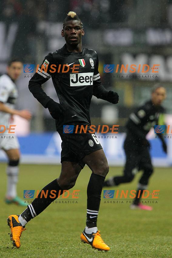 """Paul Pogba Juventus.Parma 13/01/2013 Stadio """"Tardini"""".Football Calcio Serie A 2012/13.Parma v Juventus.Foto Insidefoto Paolo Nucci."""