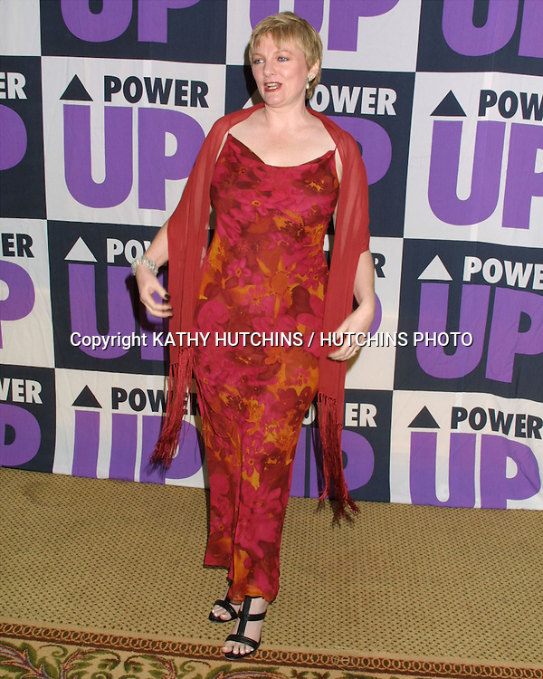 ©2003 KATHY HUTCHINS / HUTCHINS PHOTO.3rd Power Up Premiere Gala.BEVERLY HILLS, CA.NOVEMBER 2, 2003..ALISON ARNGRIM