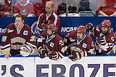 Adam Reasoner, John Hegarty, Nathan Gerbe, Matt Greene, Joe Rooney - The University of Wisconsin Badgers defeated the Boston College Eagles 2-1 on Saturday, April 8, 2006, at the Bradley Center in Milwaukee, Wisconsin in the 2006 Frozen Four Final to take the national Title.