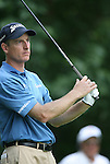 6 September 2008:   Jim Furyk in the third round of play at the BMW Golf Championship at Bellerive Country Club in Town & Country, Missouri, a suburb of St. Louis, Missouri. Furyk was the leader after the conclusion of round two with a score of 62.  After the first nine holes of the 18-hole third round, Furyk was 11 under-par.  The BMW Championship is the third event of the Fed Ex Cup and the top 30 finishers will qualify for the next event of the championship.