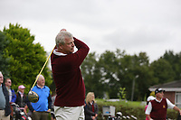 Ray Collins (Malone) during the final  of the Ulster Mixed Foursomes at Killymoon Golf Club, Belfast, Northern Ireland. 26/08/2017<br /> Picture: Fran Caffrey / Golffile<br /> <br /> All photo usage must carry mandatory copyright credit (&copy; Golffile   Fran Caffrey)