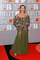 www.acepixs.com<br /> <br /> February 22 2017, London<br /> <br /> Rita Ora arriving at The BRIT Awards 2017 at The O2 Arena on February 22, 2017 in London, England.<br /> <br /> By Line: Famous/ACE Pictures<br /> <br /> <br /> ACE Pictures Inc<br /> Tel: 6467670430<br /> Email: info@acepixs.com<br /> www.acepixs.com