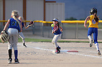 Winnemucca Gold Rush and Nevada Sharks compete in an 8U game in the AWS World Series at Edmonds Sports Complex, in Carson City, Nev., on Friday, July 11, 2014.<br /> Photo by Cathleen Allison