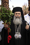 Jordan Valley, Greek Orthodox Patriarch Theophilus III of Jerusalem on Theophany at Qasr al Yahud