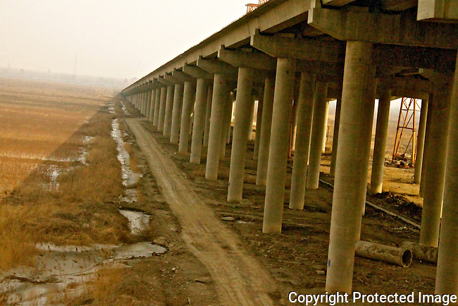Tianjin Beijing bridge new highway