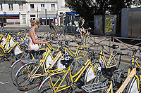 Bike hire La Rochelle Charente-Maritime France                       .
