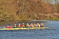 171 .SHP-Fitz-Hugh .IM3.8+ .Shiplake Coll. Wallingford Head of the River. Sunday 27 November 2011. 4250 metres upstream on the Thames from Moulsford railway bridge to Oxford University's Fleming Boathouse in Wallingford. Event run by Wallingford Rowing Club.