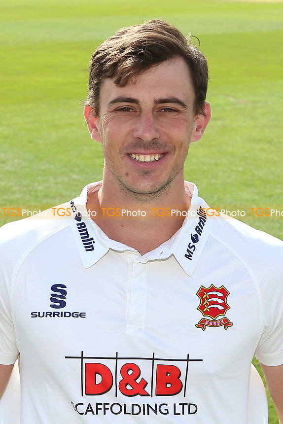 Matt Dixon of Essex in Specsavers County Championship kit during the Essex CCC Press Day at The Cloudfm County Ground on 5th April 2017