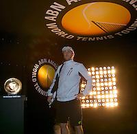 Rotterdam, The Netherlands. 13.02.2014. ABN AMRO World tennis Tournament. Michael Berrer(DUI)<br /> Photo:Tennisimages/Henk Koster