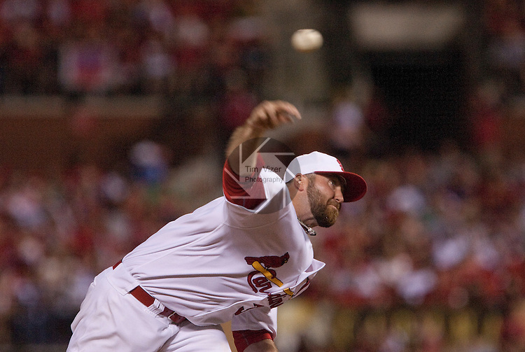 July 1, 2010       St. Louis Cardinals relief pitcher Jason Motte (30) pitches late in the game.   The St. Louis Cardinals defeated the Milwaukee Brewers 5-0 in the second game of a four-game homestand at Busch Stadium in downtown St. Louis, MO on Friday July 2, 2010.